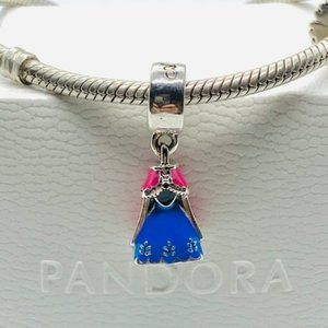 Disney, Anna's Dress Dangle Charm